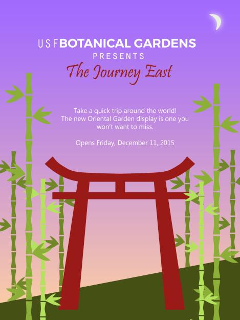 Botanical Gardens Flyer 3