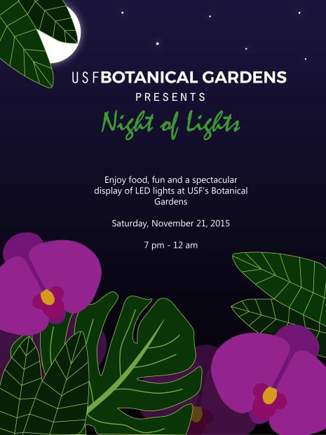 Botanical Gardens Flyer