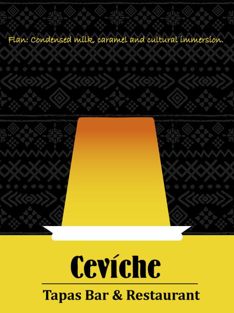 Ceviche Flan