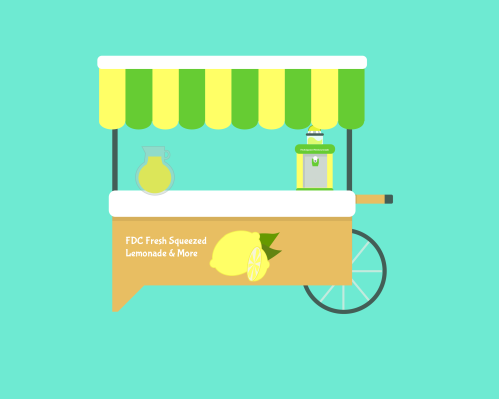 FDC Juice Cart Lemonade